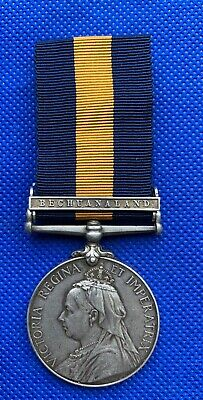 Victorian Cape of Good Hope Medal with Bechuanaland Clasp - 1st City Volunteers
