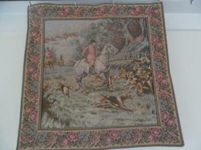 Vintage Woven Tapestry Panel / Wall Hanging / Cushion / Upholstery