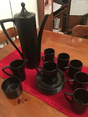 Black Elegant Coffee Set