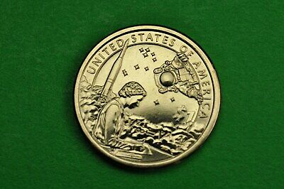 2019-D  BU Mint State (Sacagawea/Native American) US One Dollar Coin