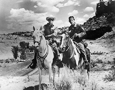 """The Lone Ranger and Tonto in 1956 Classic TV Show 8""""x 10"""" Photo 2"""