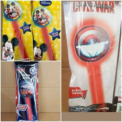 wholesale joblot 108 light up glow stick wand  toys party bag fillers