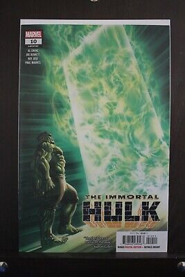 IMMORTAL HULK #10 1st PRINT Alex Ross Cover MARVEL 2018 NM