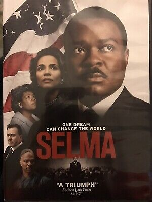 Selma 2015 Paramount DVD Movie BASED ON MARTHA LUTHER KING JR