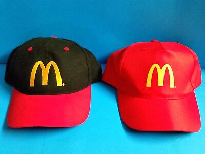 Collectable Macca's Caps x 2