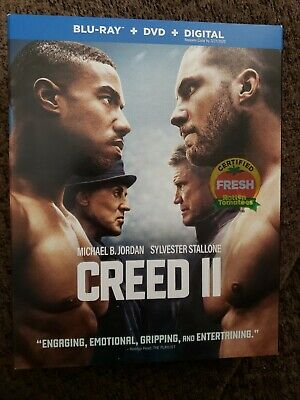 Creed II Blu-ray/DVD/Digital Brand New