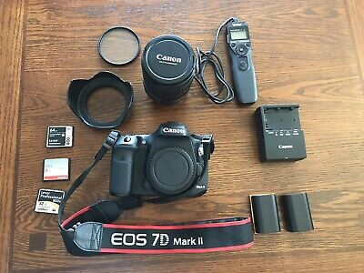 Used Canon 7D mark II. 20.2 Megapixal Camera with Canon EF 28-135mm Lens