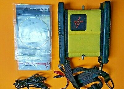 Applied Instruments Super Buddy 21 29 Satellite Signal Level Meter w/ CD + Cable