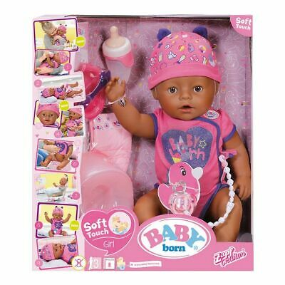 NEW Baby Born Soft Touch Doll