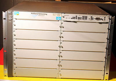 HP PROCURVE 5412ZL J8698A Chassis With Premium Software License 2xAvail