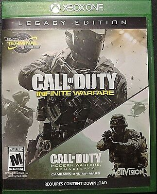 XBOX ONE - CALL of DUTY - INFINITE WARFARE - Legacy Edition - Video Game
