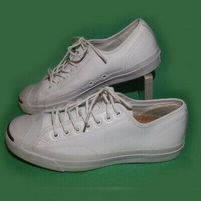 fe6beaf5c75c Converse Jack Purcell Women Size 9.5 white leather sneakers shoes cork  insole