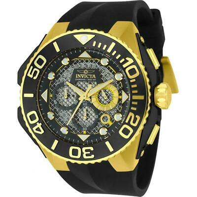 Invicta Coalition Forces Men's Chronograph Watch with Black Silicone Strap 23961