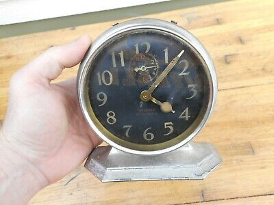 Antique 1920's Westclox USA Big Ben De Luxe Alarm Clock For Repair
