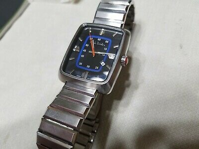 Rare Unique Paul Smith Vintage Art Deco Style Mens Watch