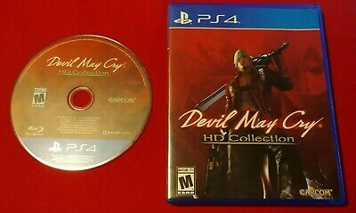 Devil May Cry 1 2 3 HD Collection (PlayStation 4) PS4 - In Case - Works Great