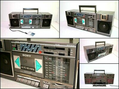 SONY CFS-5000S FM AM SW Stereo Cassette Recorder Boombox