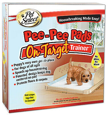 Pee-Pee Pads On Target Housebreaking Trainer