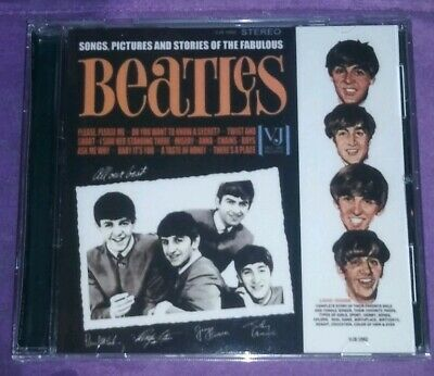 Songs Pictures and Stories of the Fabulous Beatles CD in Stereo!