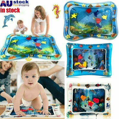 Water Filled Play Mat Inflatable Baby Water Fun Cushion for Children Infants AU