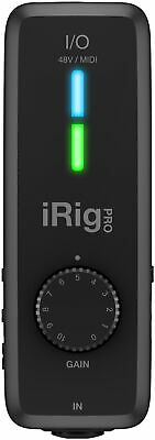 IK Multimedia iRig Pro I/O Audio Interface for iOS, Mac, and PC (Open Box)