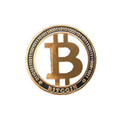 2019 New Commemorative Hollow Gold Bitcoin Collectors Coin is Gold Plated Coins