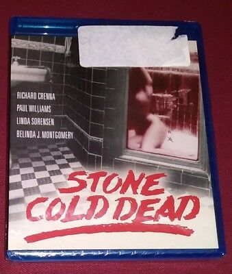 stone Cold Dead Blu-ray Richard Crenna Paul Williams Linda Sorenson 1979 NEW