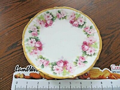 "Vintage antique 8"" plate Limoges-Elite Work China Plate ~ France"