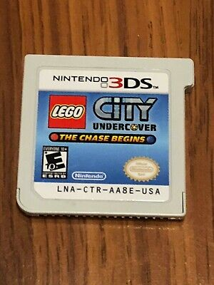 LEGO City Undercover: The Chase Begins (Nintendo 3DS, 2013) Cart Only!