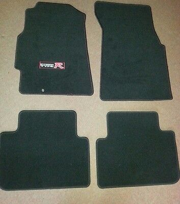 Honda Integra DC2 Type R FLOOR MAT CARPET SET LHD Genuine OEM ITR 1995-01 Acura