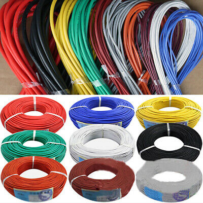 20Awg~30Awg  Flexible Stranded Cable Wire Cord Hook-Up Diy Electrical Line Funny