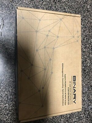 Binary 4K HDR Hdmi Splitter 1x2 B260 444 HDR Sp125a Brand New Released