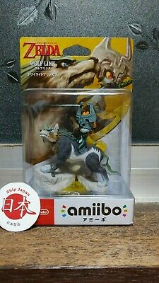 3DS Wii U Amiibo Wolf Link The Legend of Zelda Twilight Princess