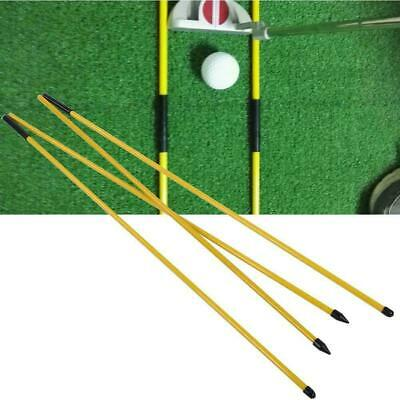 Golf Alignment Stick Swing Tour Trainer Rod Ball Striking Aid Practice Accessory