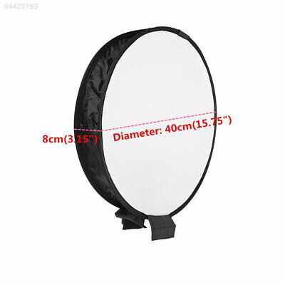 3D64 40cm Studio Soft Screen Softbox Photography Pop-Up Flash Diffuser For