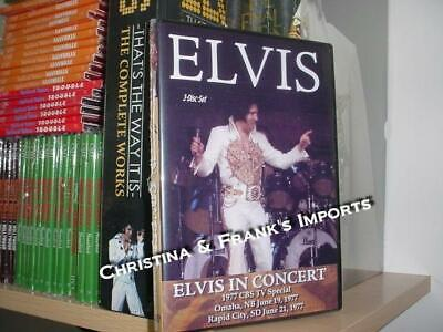Elvis Presley: CBS Special (3 DVD set) The Final Curtain Quality