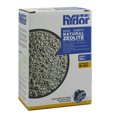 Hydor High Purity Natural Zeolite 550 gr Zeolite naturale per Acqua Dolce Marina