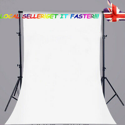 3x5ft/5x7ft Pure White Photography Background Cloth Studio Photo Props Backdrops