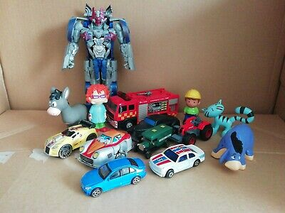 joblot of small toys & cars