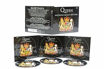 092202 Queen - Nothing Really Matters (CD x 3) |Nuevo|