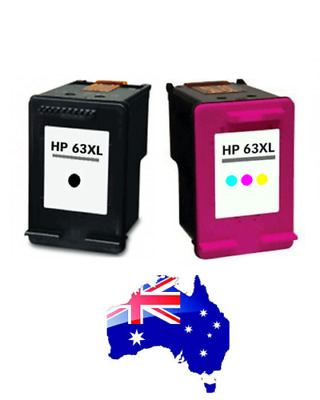 1X Black/Color Ink for HP 63XL Deskjet 2130 2131 3630 3632 Officejet 4650 3830AU