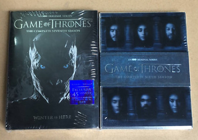 Game of Thrones: The Complete 6 7 Seasons 67(DVD) Box Set Bundle Combo NEW US
