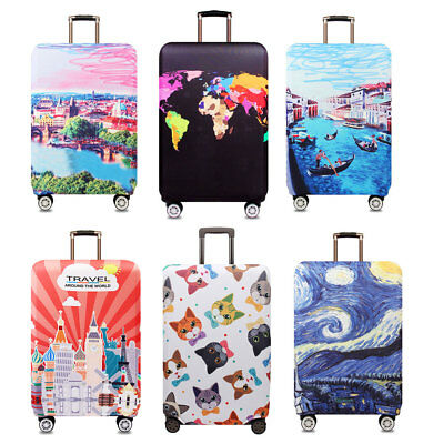 """Dustproof 18""""24""""32"""" Protective Travel Luggage Suitcase Trunk Trolley Case Cover"""