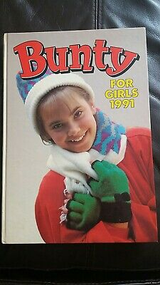 Vintage Bunty For Girls Annual 1991 - Unclipped