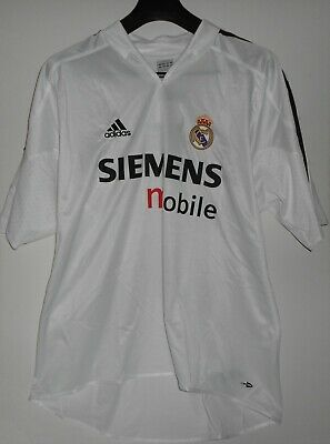 3052efae78c New Adidas REAL MADRID - Jersey Shirt HOME 2004 2005 White XL ORIGINAL with  TAGS