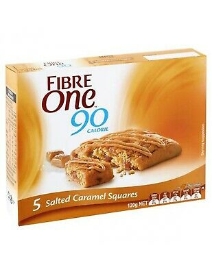 Fibre One Salted Caramel Brownie 120gm x 6