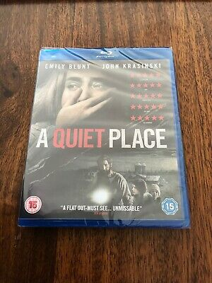 A Quiet Place (2018) Blu-Ray, Brand New