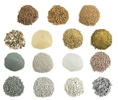 WWS Model Basing Material - Sand Rock Gravel Stone Pebble Cork - Large selection