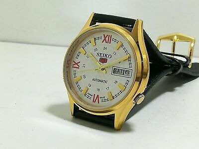 Seiko 5 Mechanical Automatic Day Date 17 Jewels  Analogue Watch Fully Guaranteed