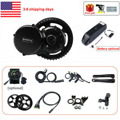 48V 750W BAFANG 8 Fun BBS02B Mid Drive Motor Electric Bicycle Conversion Kit